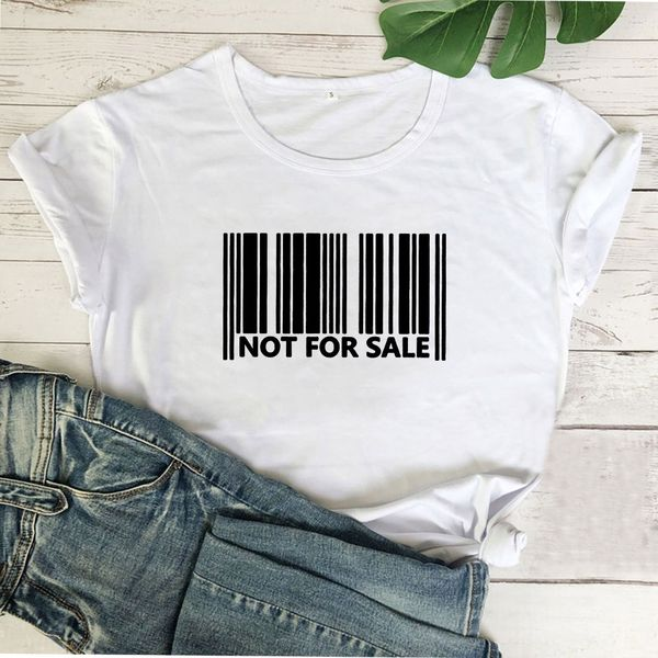 """Adult Tee """"Not For Sale"""""""