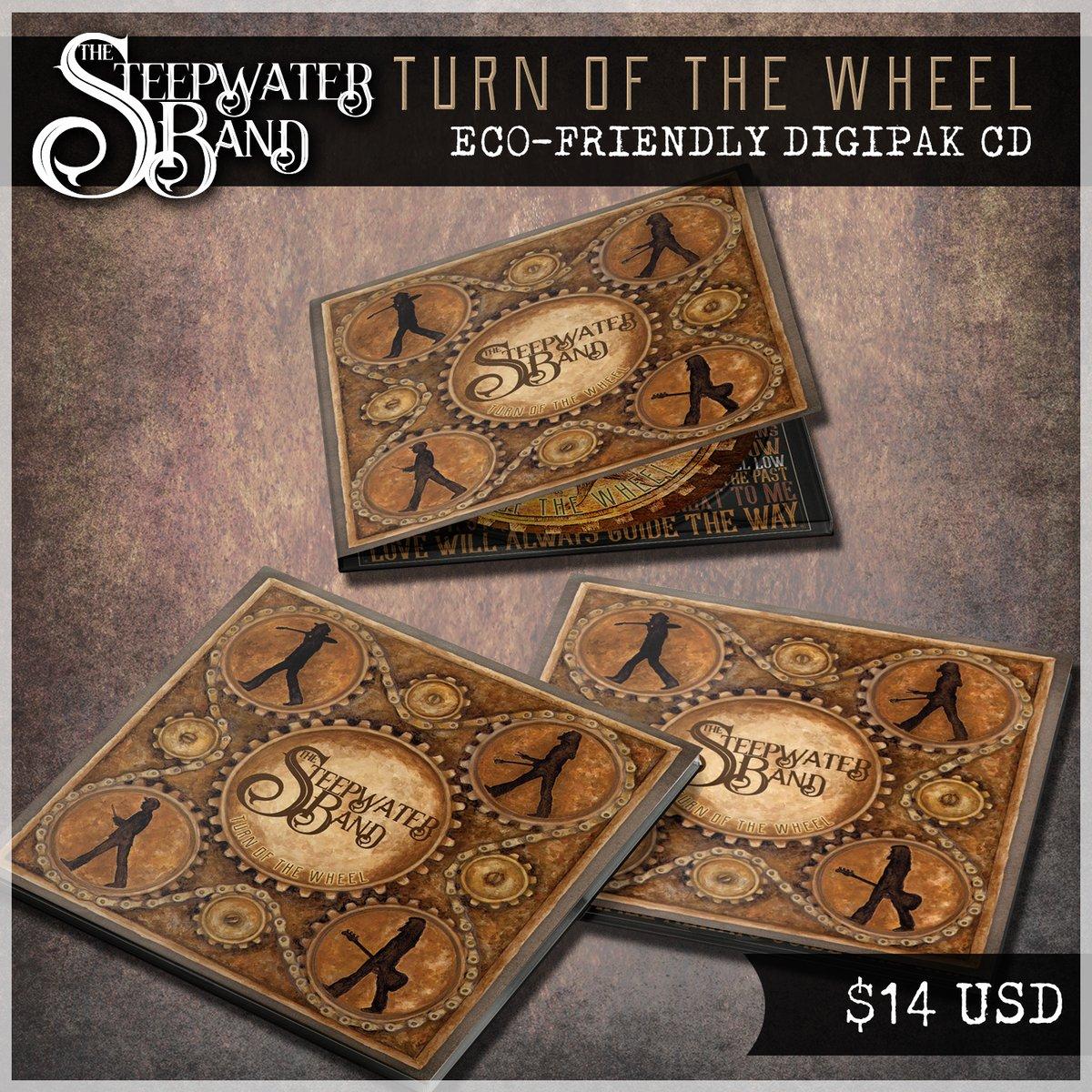 Turn Of The Wheel DigiPak CD