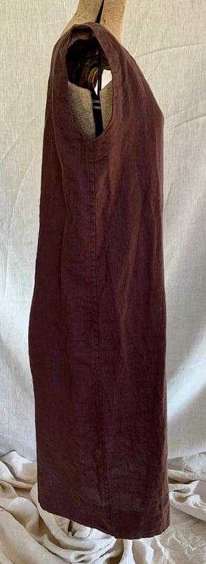 Image of simple  linen dress