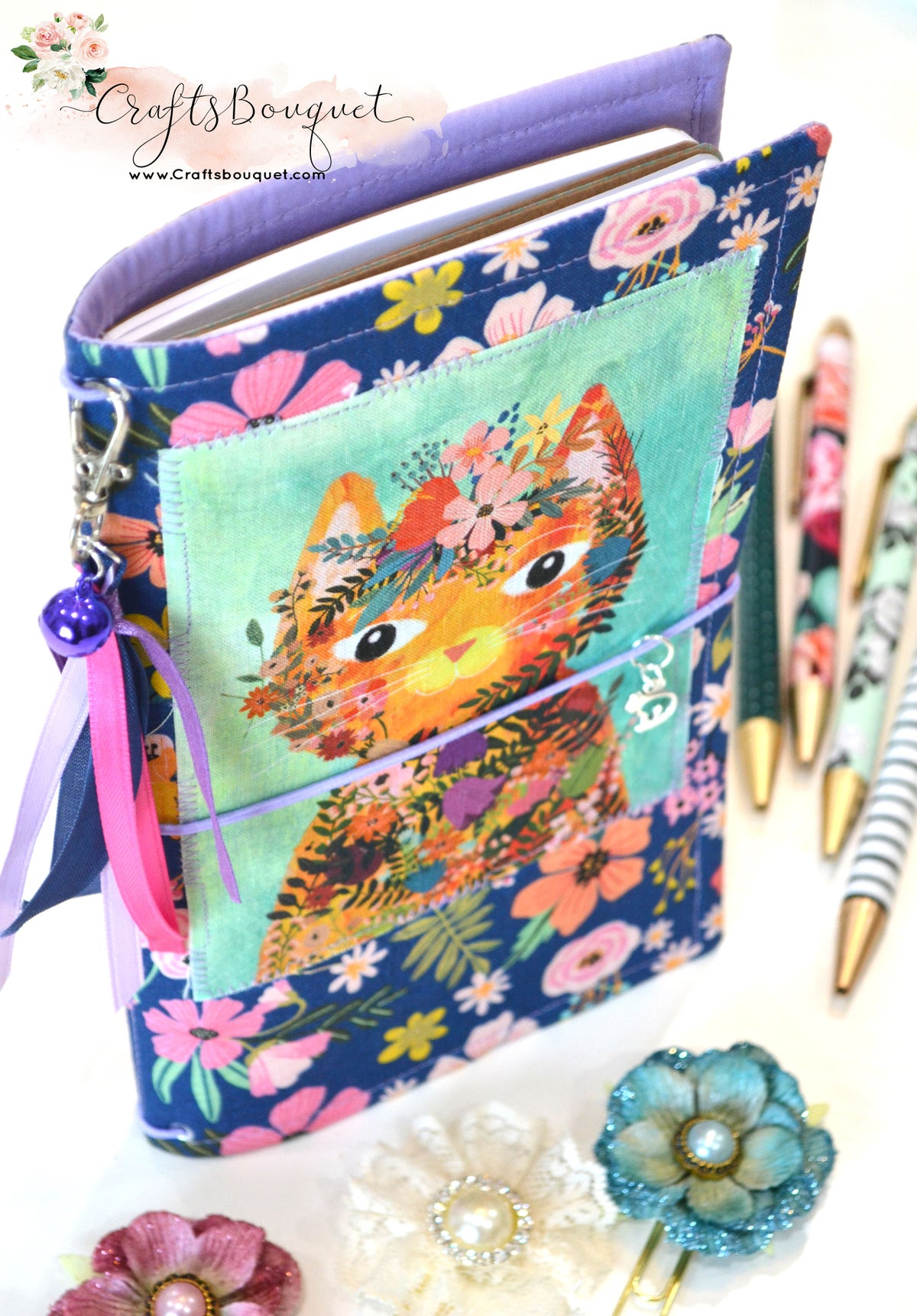 Image of Cat Fabric Standard Journals