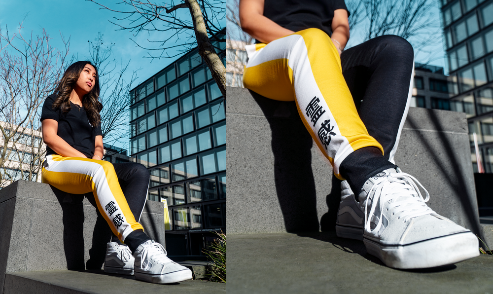 Image of [WAVEIII] KH Inspiration Joggers - Yellow
