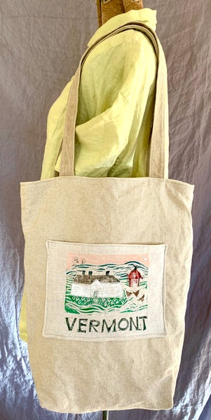 """Image of """"Vermont"""" canvas tote bag"""