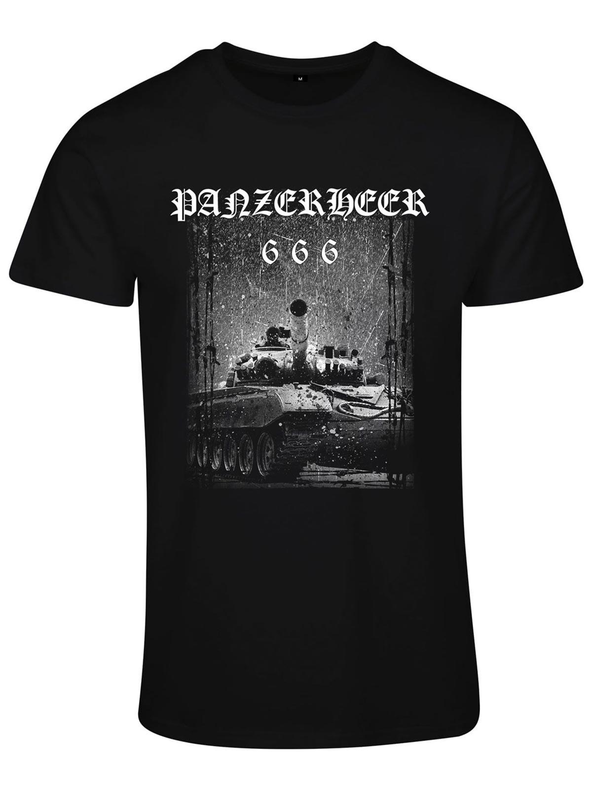 Panzerheer Black Basic T-Shirt
