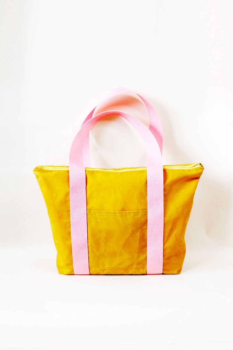 Image of the SAN FRAN deluxe tote bag PDF pattern