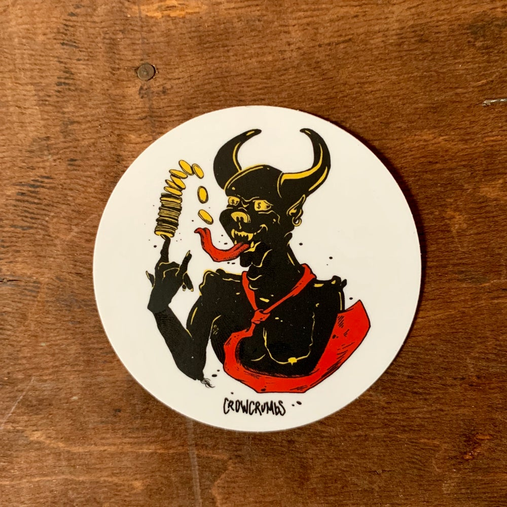 Image of Devil sticker