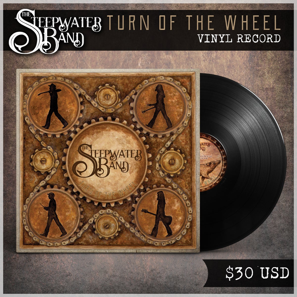 Turn Of The Wheel Vinyl LP