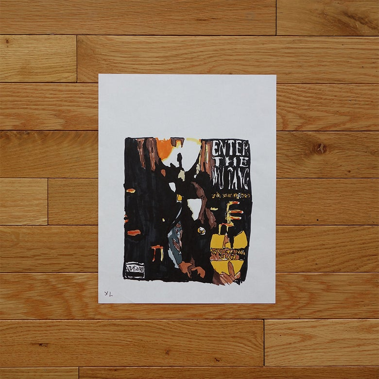 "Image of Yung Lenox ""Enter The 36 Chambers"" Print"
