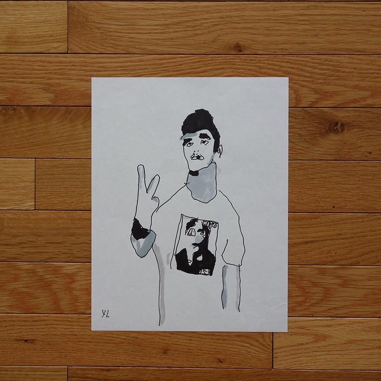 """Image of Yung Lenox """"Morrissey"""" Print"""