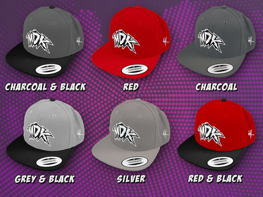 Image of MDK Original Snapback Hat (Colored)