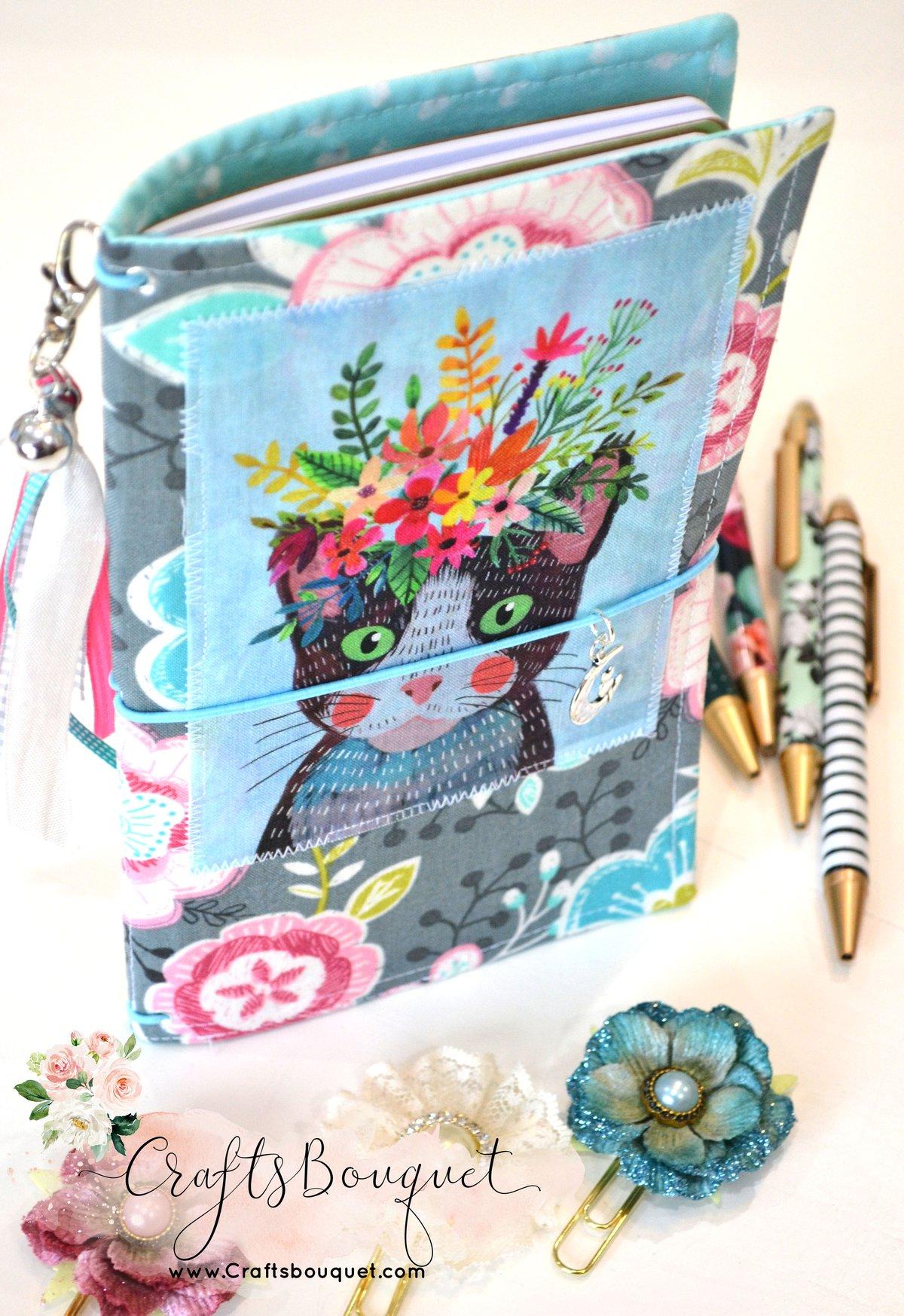 Image of Cat Fabric Standard Journals