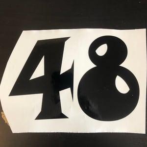 Image of Custom Numbers
