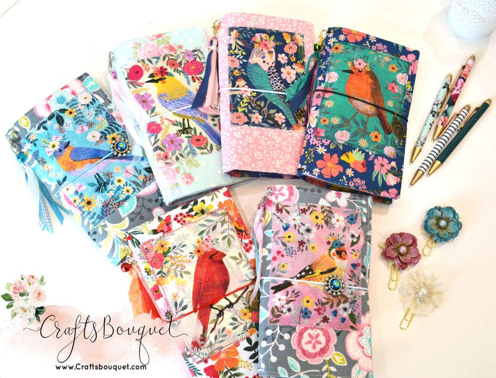 Image of Birds Fabric Standard Journals