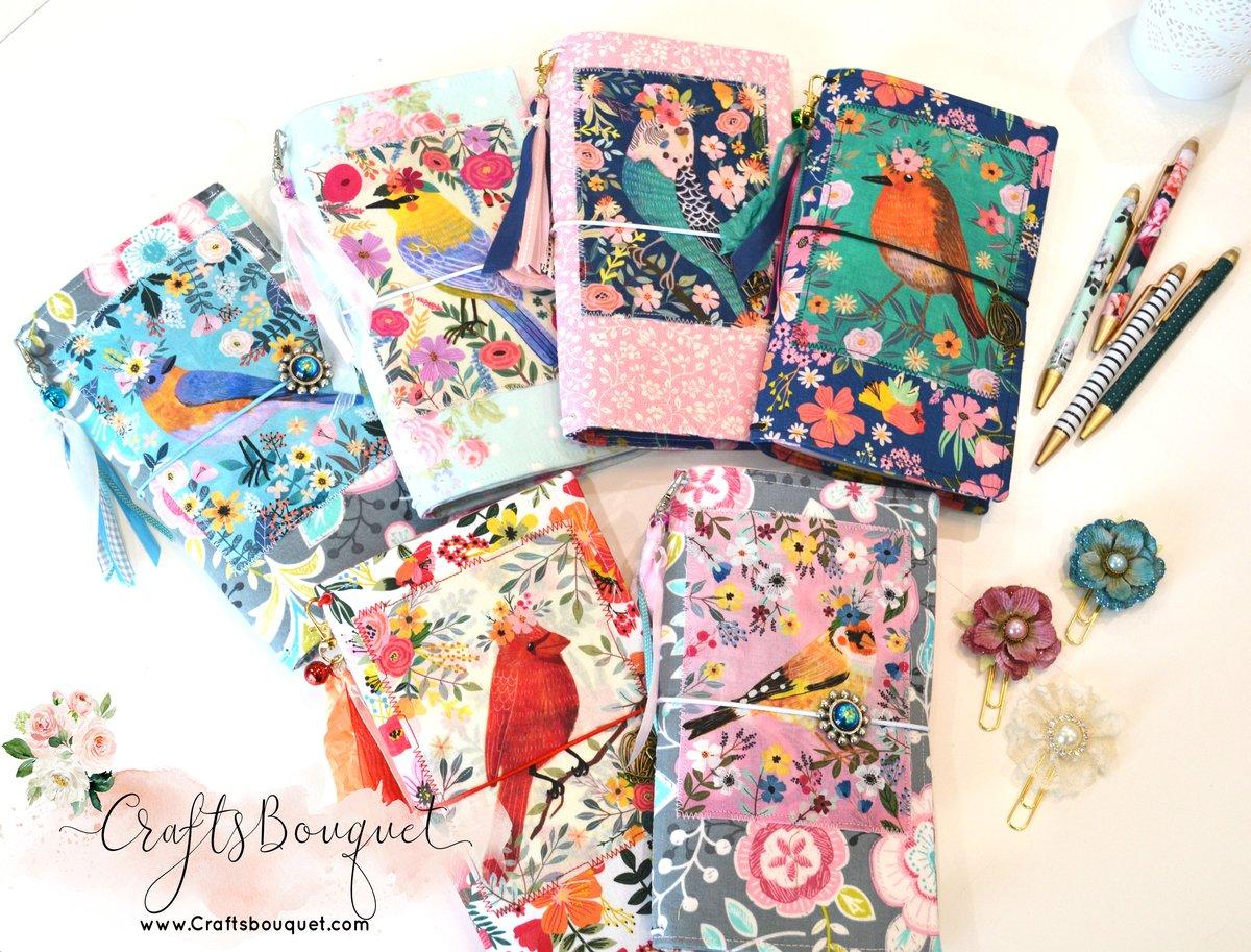 Image of Birds Fabric Standard Journals