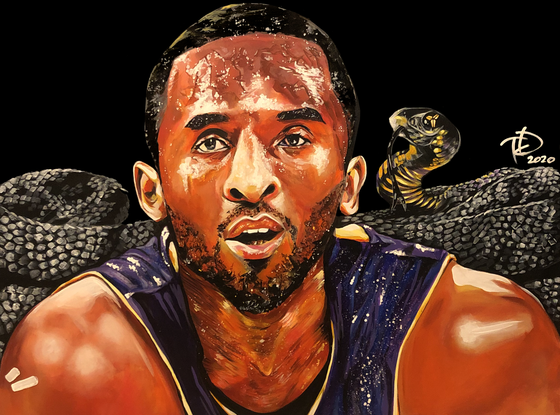 Image of  BLACK MAMBA | canvas print