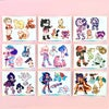 Pokemon sword and shield gym leader sticker sheets