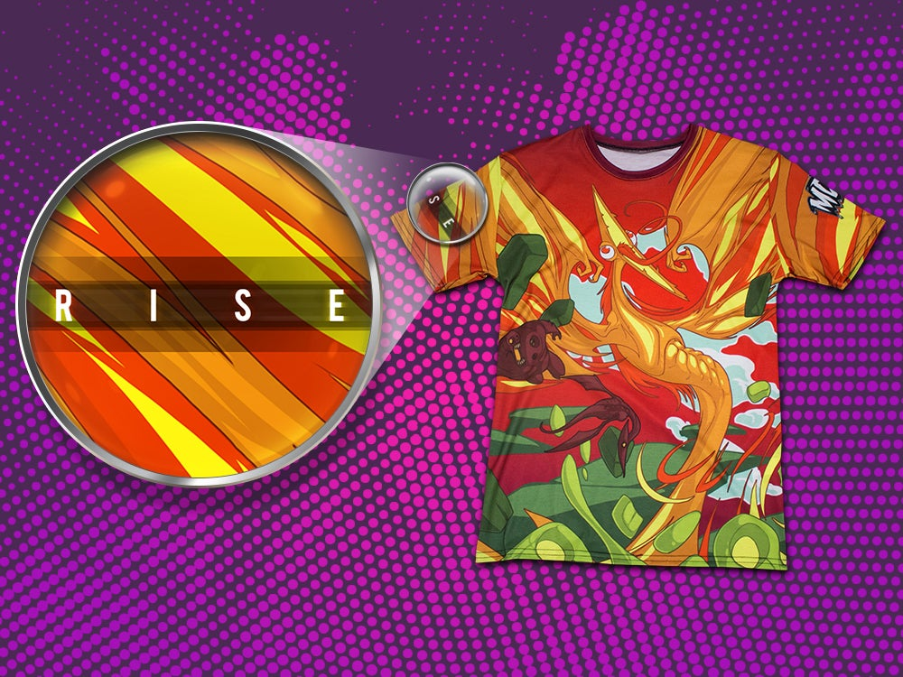 Image of Rise - All Over Print T-Shirt