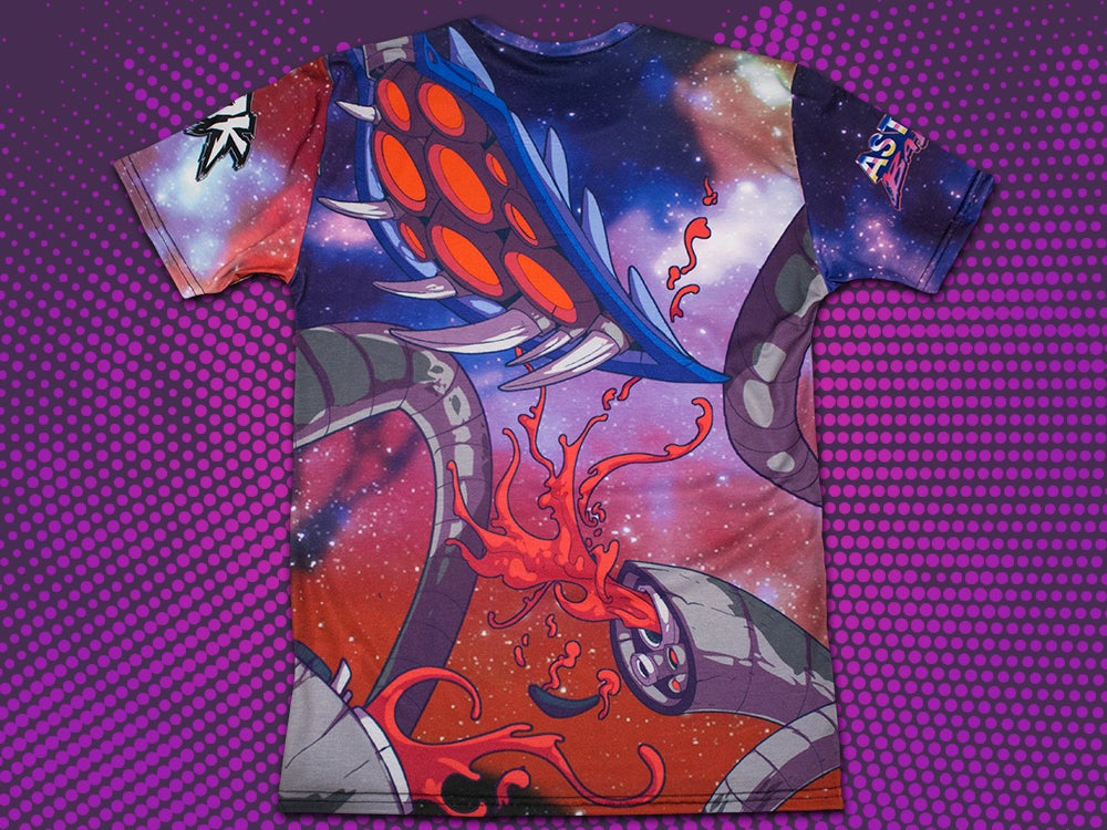 Image of Astral Badass - All Over Print T-Shirt