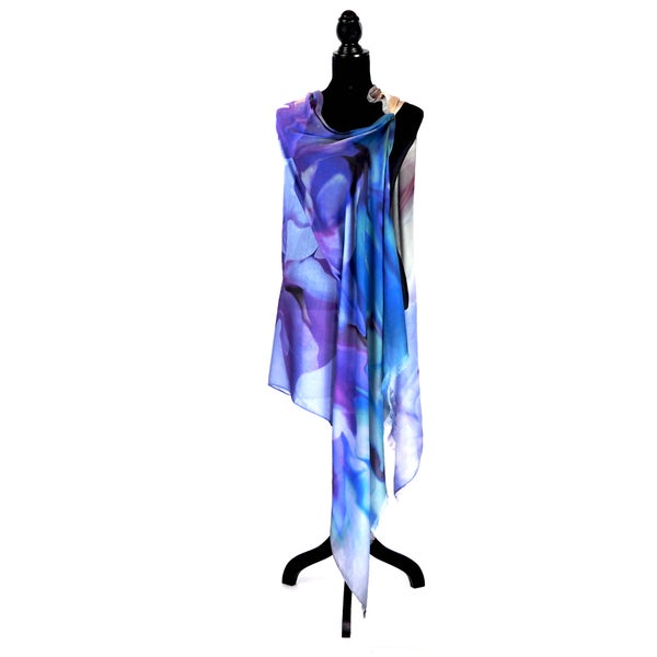 Image of Silk Cashmere Blue Azalea