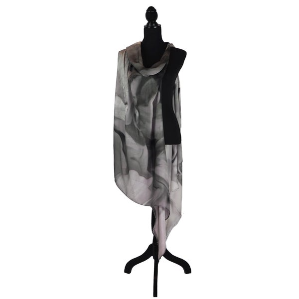 Image of Silk Cashmere Charcoal Azalea
