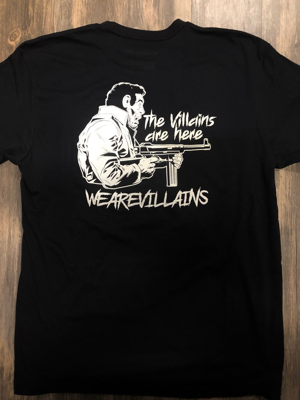 VILLAINS ARE HERE