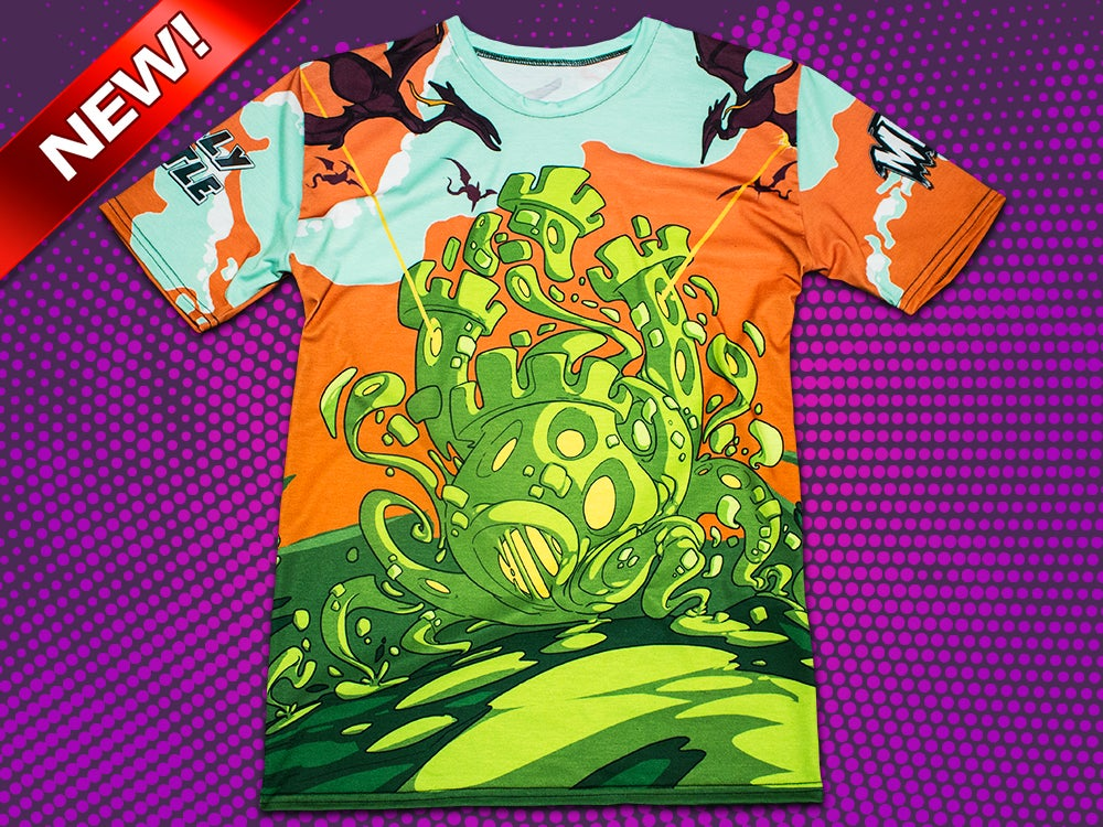 Image of Jelly Castle - All Over Print T-Shirt