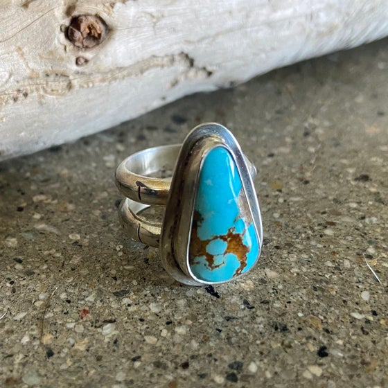 Image of Little L Royston Turquoise Ring