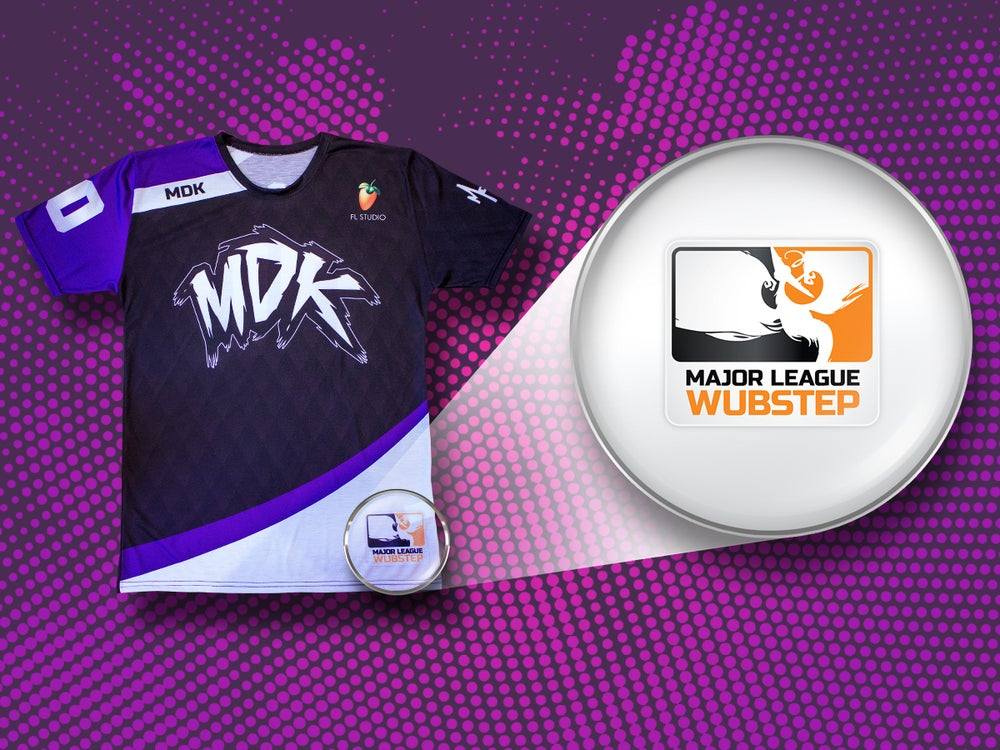 Image of Official Team MDK Jersey [HOME VERSION]