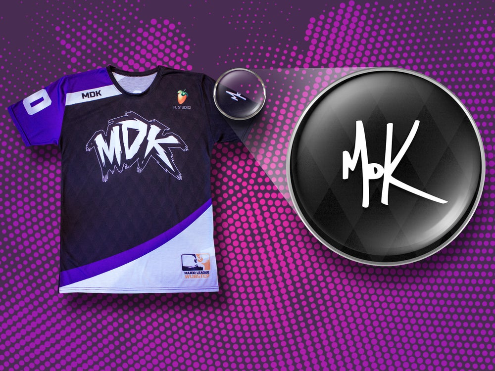 Image of Official Team MDK Jersey [AWAY VERSION]
