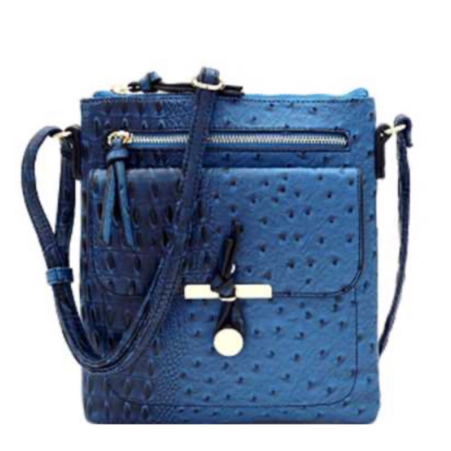 Image of Classy Ostrich Crossbody