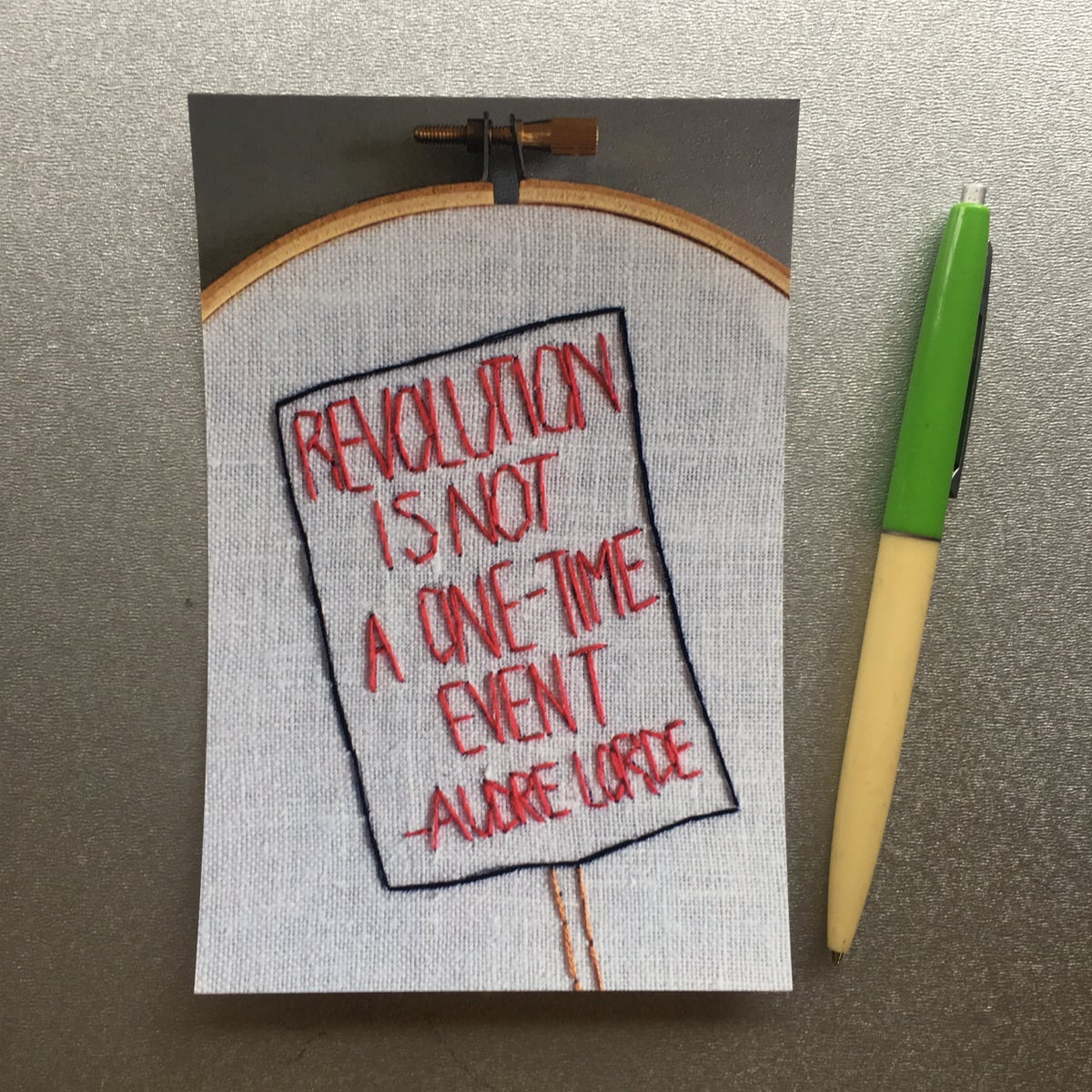 Image of Resist postcards