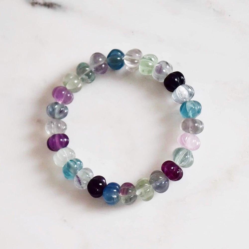 Image of Rainbow Fluorite bracelet
