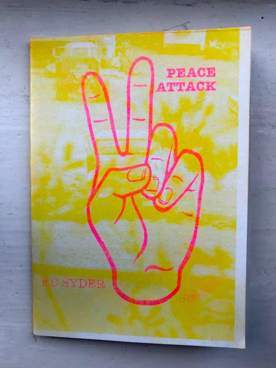 Image of 'Peace Attack' Risograph Zine