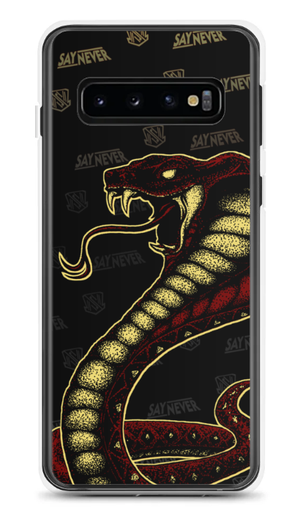 "Image of SAY NEVER ""COBRA"" PHONE CASE"