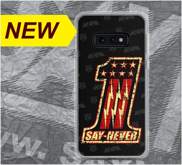 "Image of SAY NEVER ""VINTAGE-ONE"" PHONE CASE - iPhone and Galaxy"