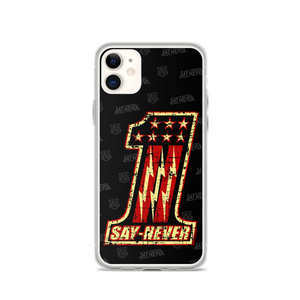 """Image of SAY NEVER """"VINTAGE-ONE"""" PHONE CASE"""