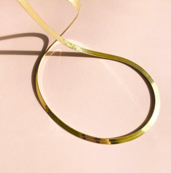 Image of DAYA Necklace / 24k Gold-coated silver