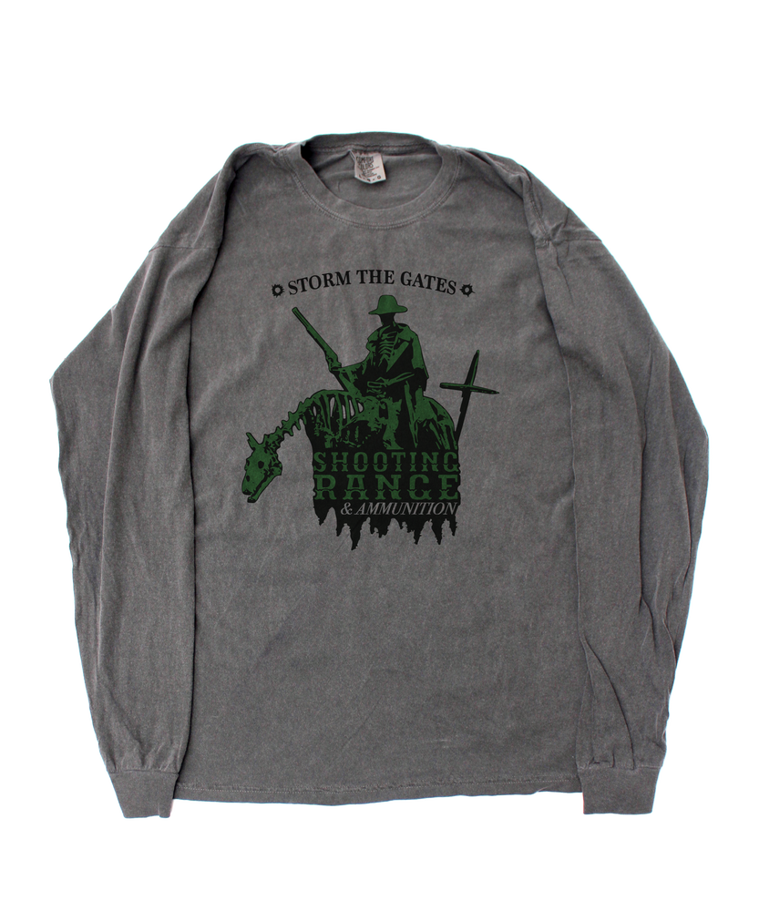 Image of SHOOTING RANGE LONG SLEEVE TEE SHIRT