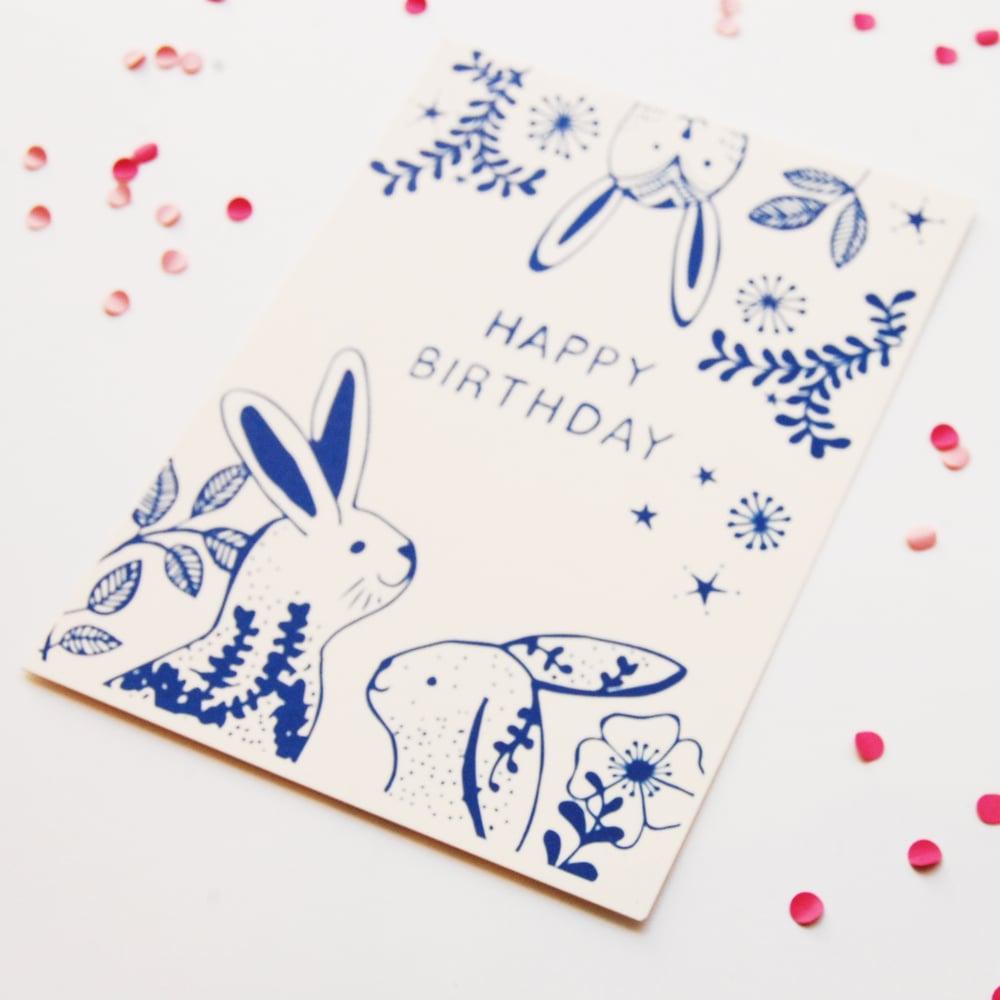 Image of Happy Birthday - Bunny's