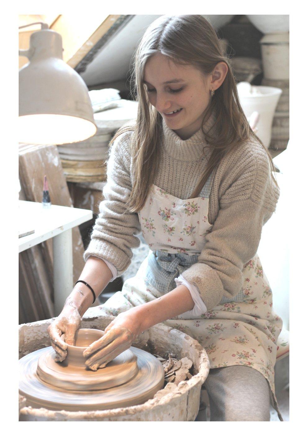 Image of Keramik med børn