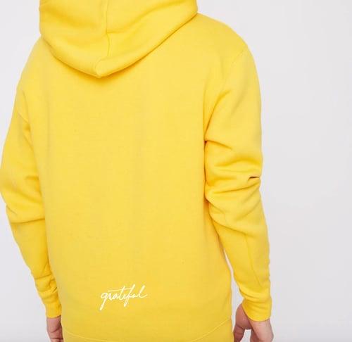 Image of Grateful Hoodie 2.0 / Yellow