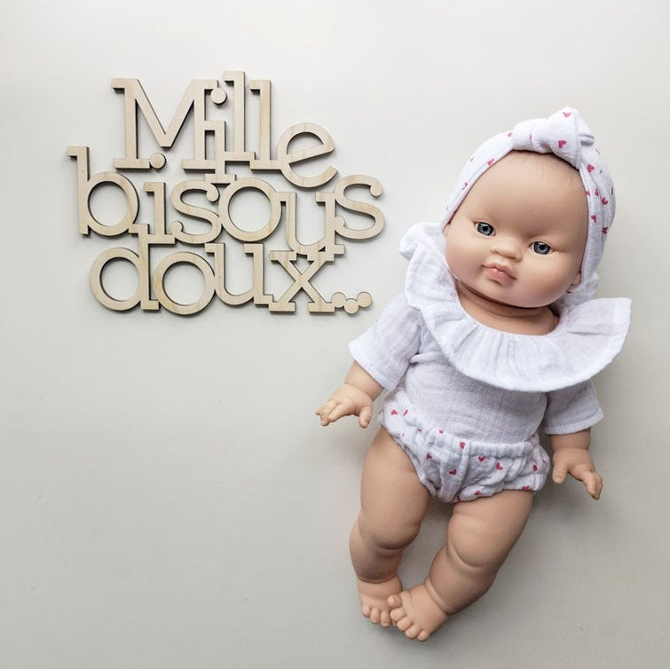 """Image of """"Mille bisous doux"""""""