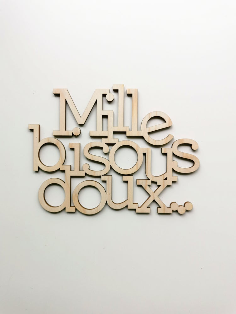 "Image of ""Mille bisous doux"""