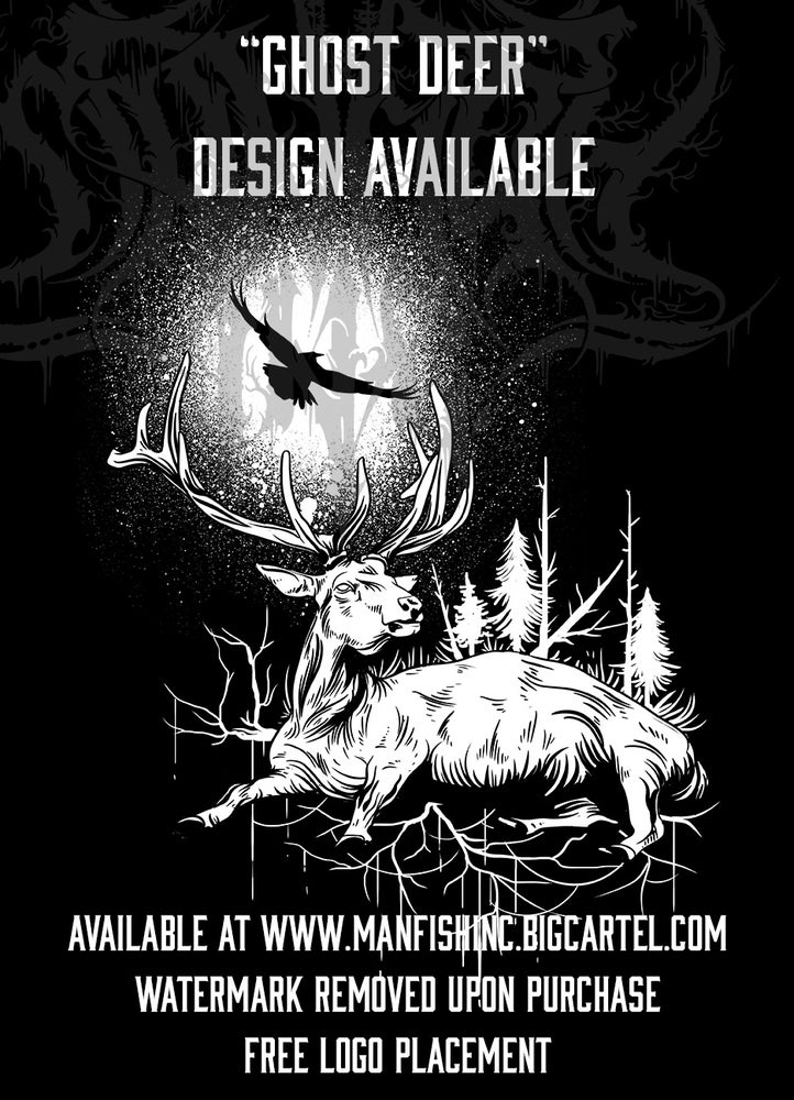 Image of Shirt Design - Ghost Deer""