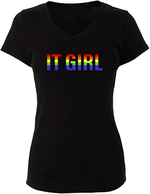 """Image of PRE-ORDER """"Pride It Girl """" T-Shirt in Black - Limited Edition"""