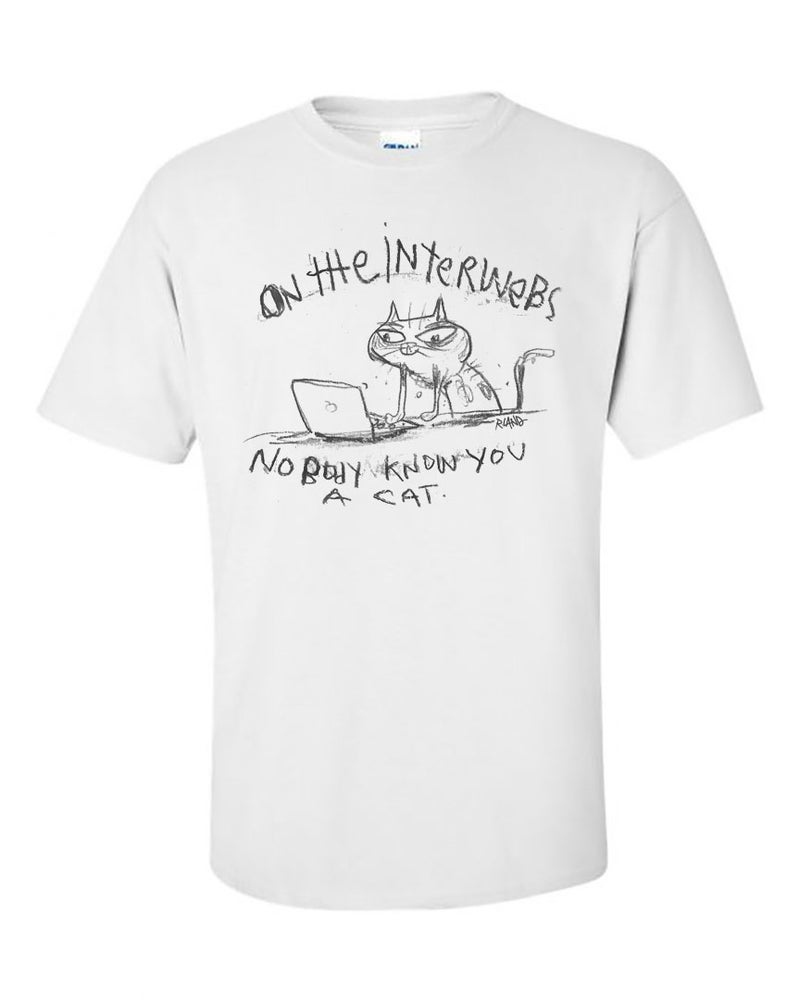 Image of Interwebs Cat Unisex t-shirt
