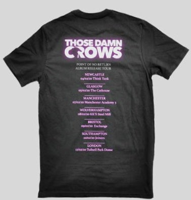 Image of 'Point Of No Return' Tour Tee