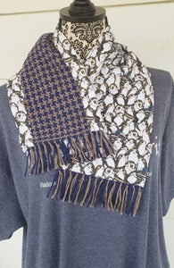 Image of Hidden Character Themed handwoven scarf, handmade