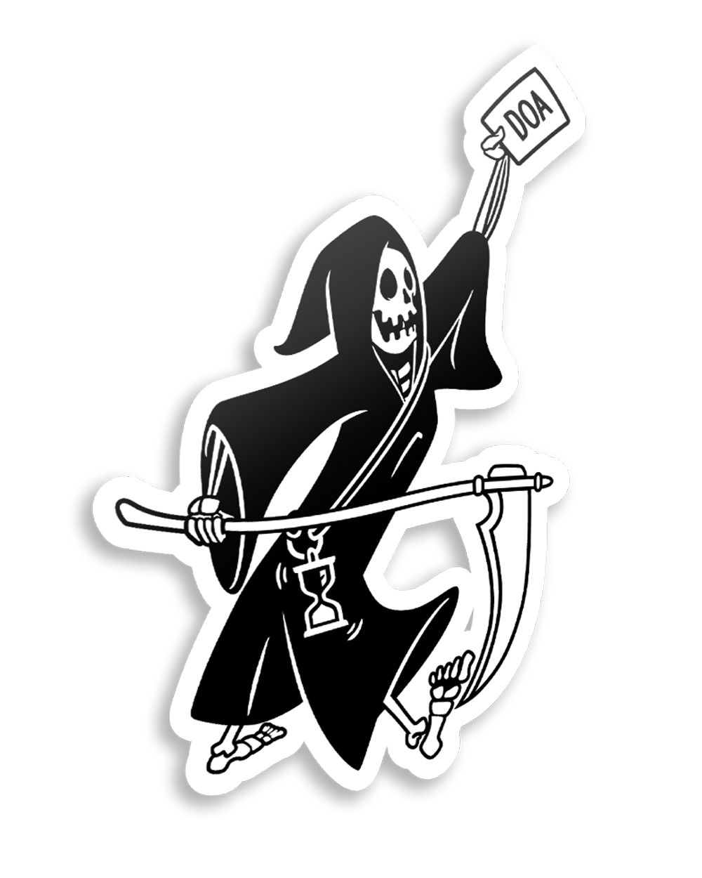 """Death Delivers"" / Sticker"