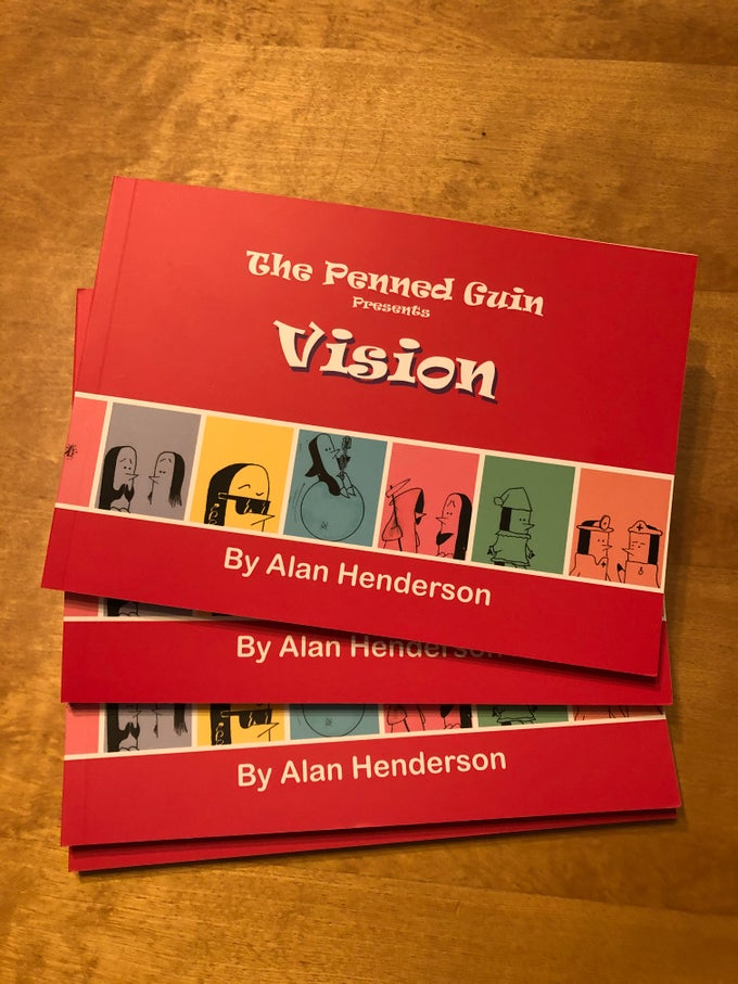 Image of The Penned Guin - Vision