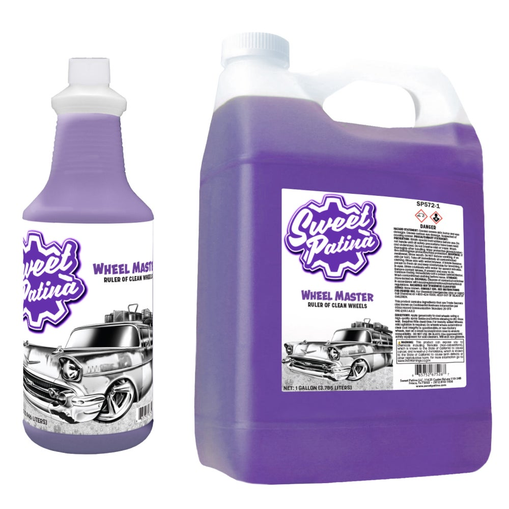 "Image of ""Wheel Master"" Wheel Cleaner"